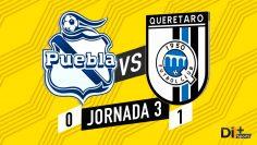 Portada Puebla vs Queretaro